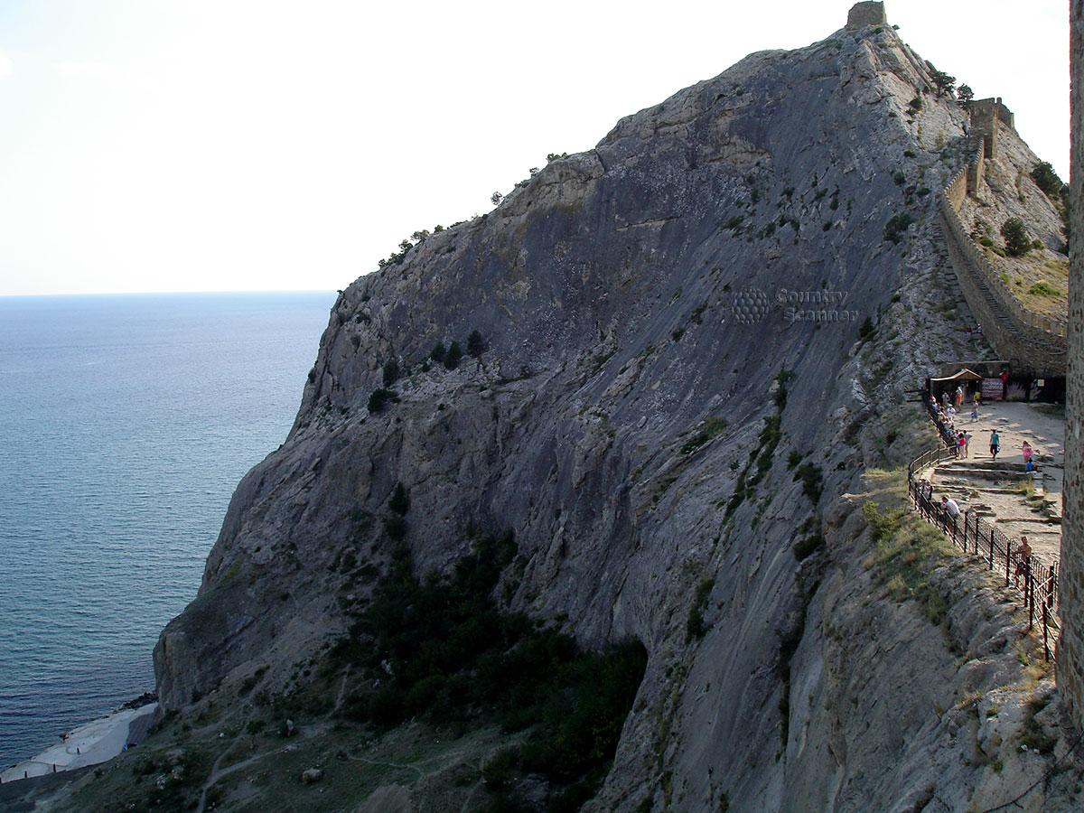 Высшая точка Генуэзской крепости