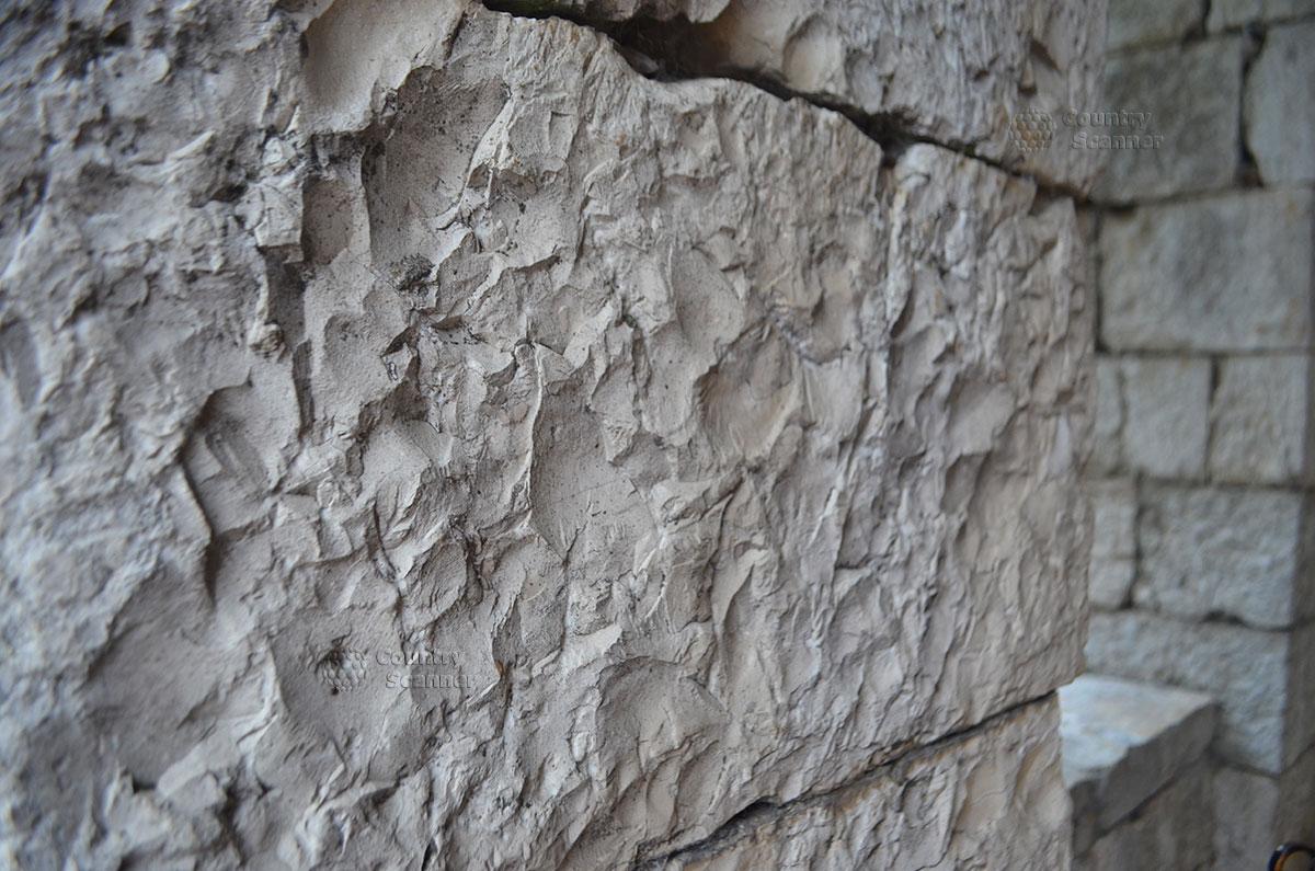 Башня Ахун. Кладка стен.