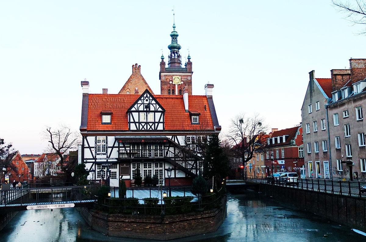 Неповторимая немецкая архитектура города Гданьск