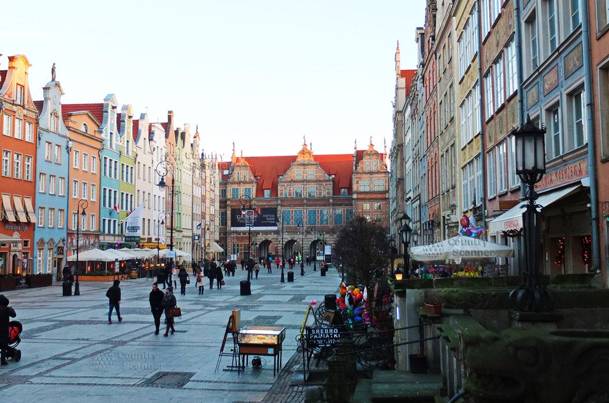 Главная площадь города Гданьск