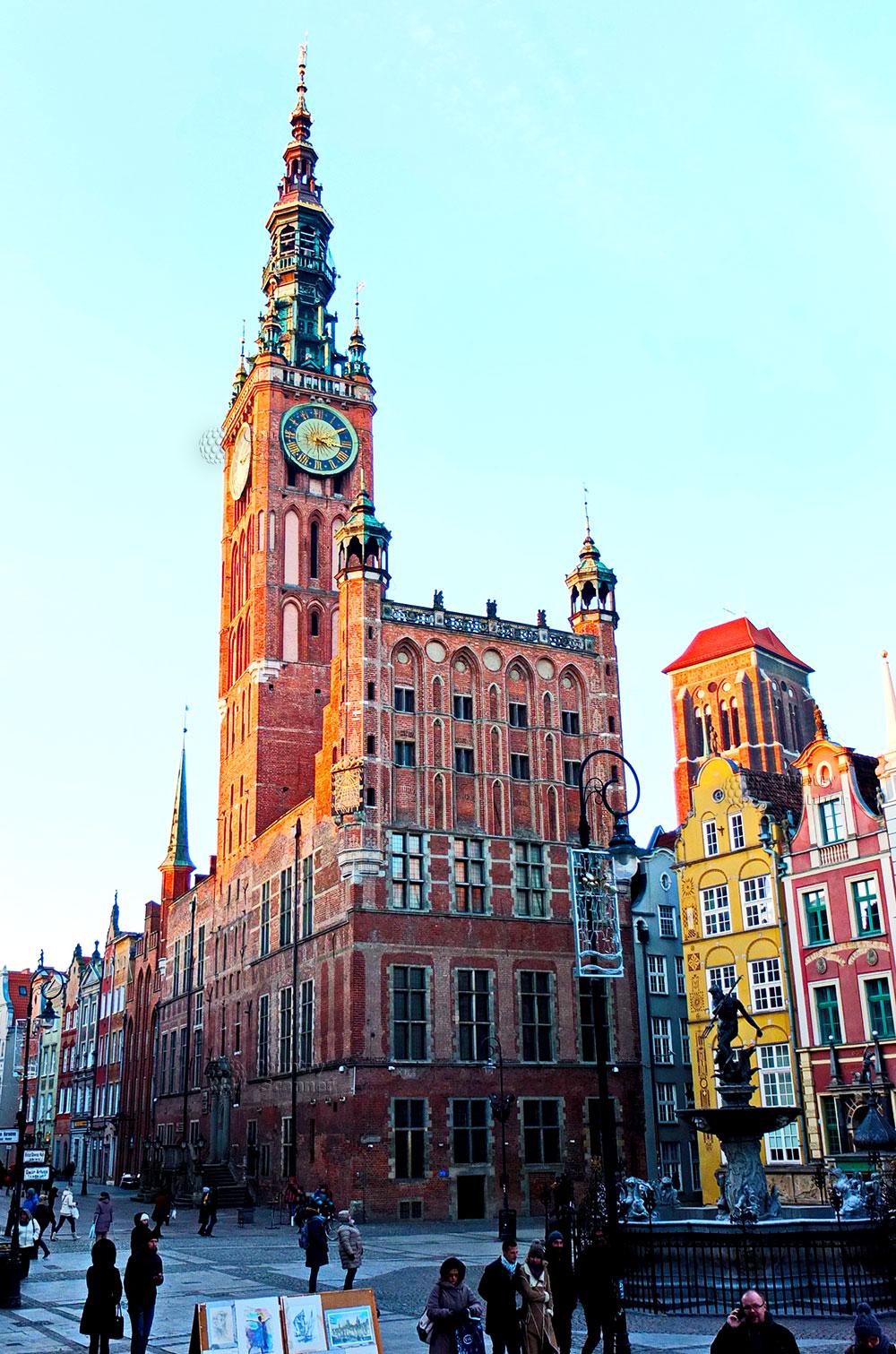 Королевская Ратуша в городе Гданьск