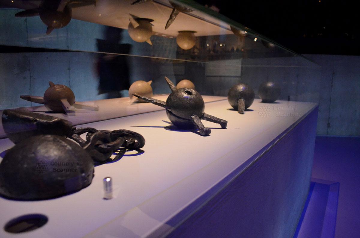 Корабль музей Васа (Vasa). Сохранившиеся предметы из металла
