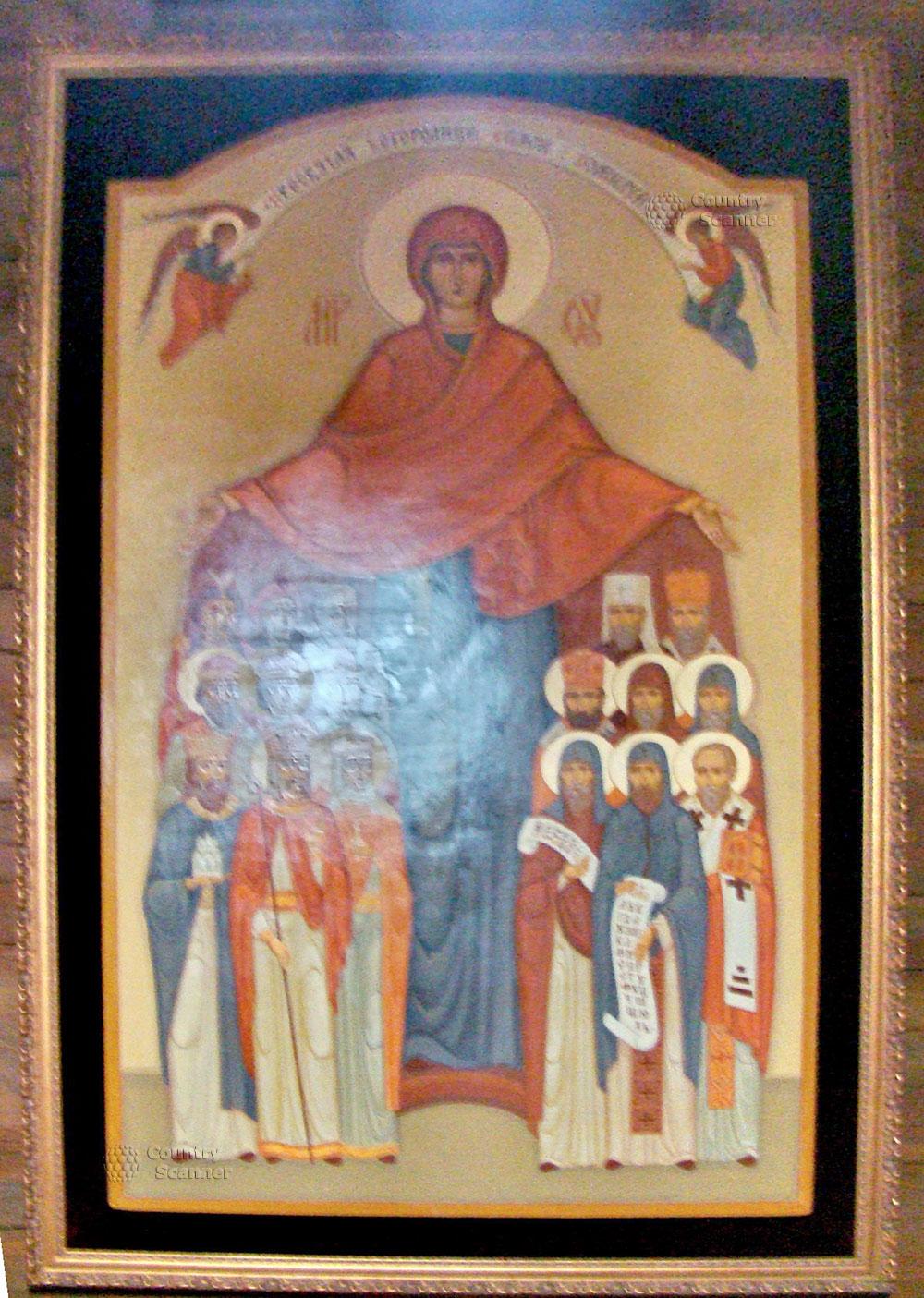 Литовский замок в Батурине. Икона.