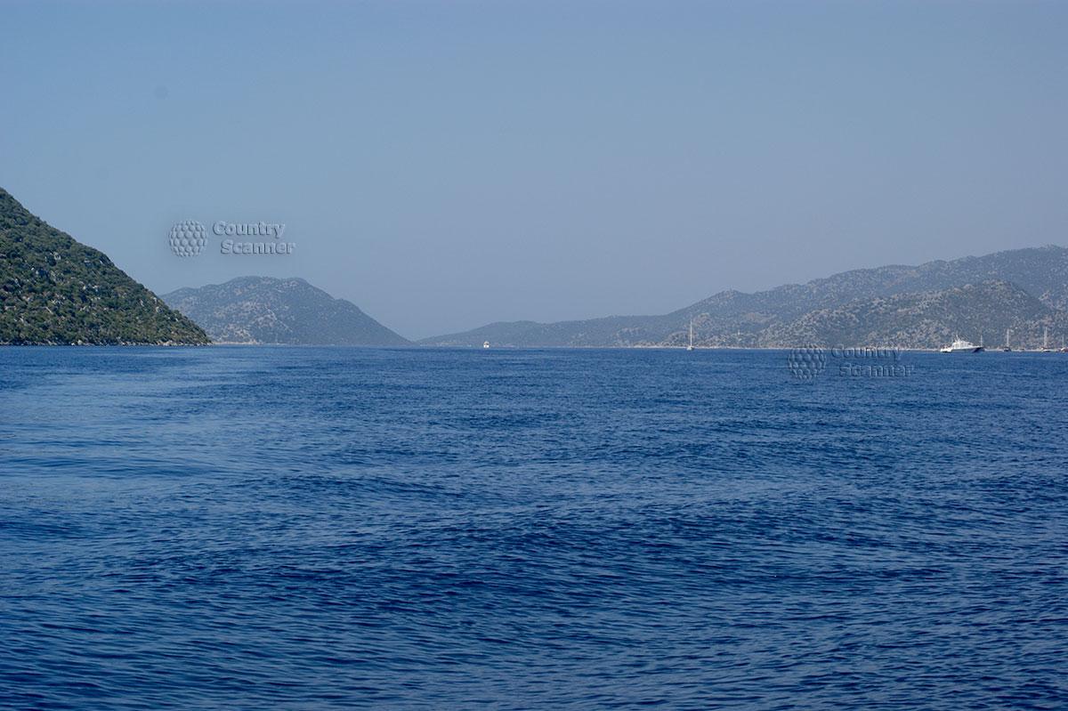 Остров Кекова. Морской пейзаж.