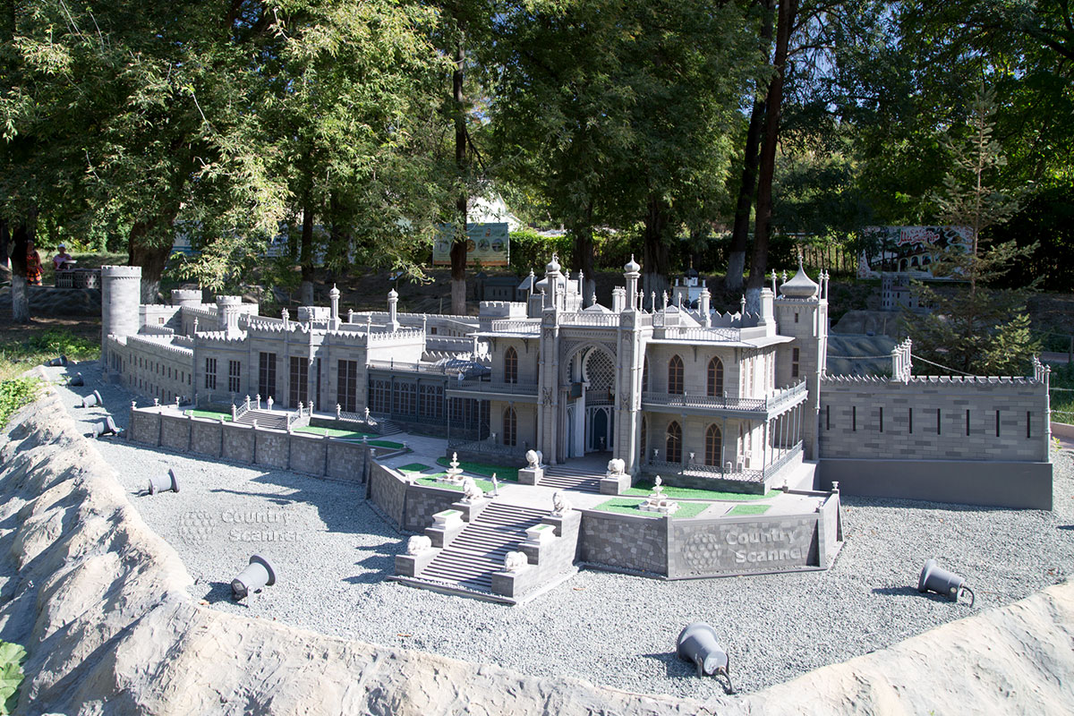 Парк миниатюр Бахчисарай.