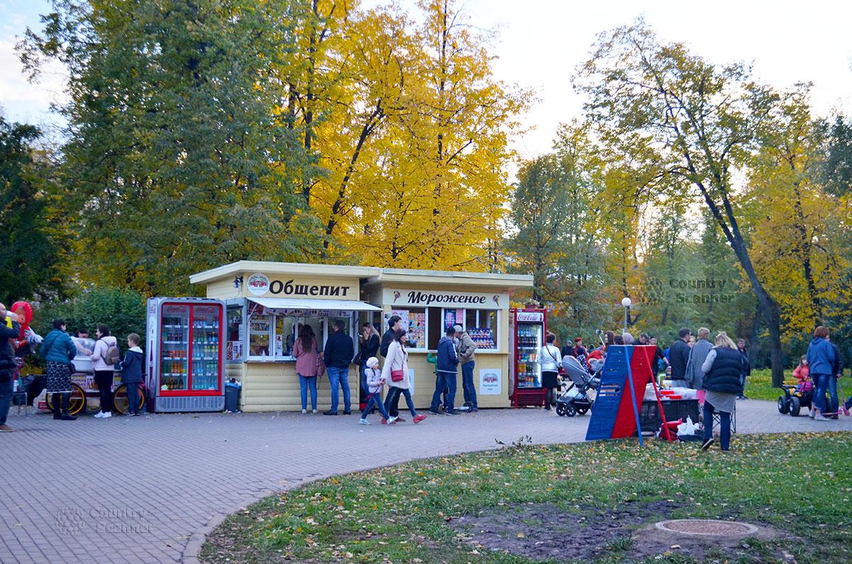 Общепит Воронцовского парка
