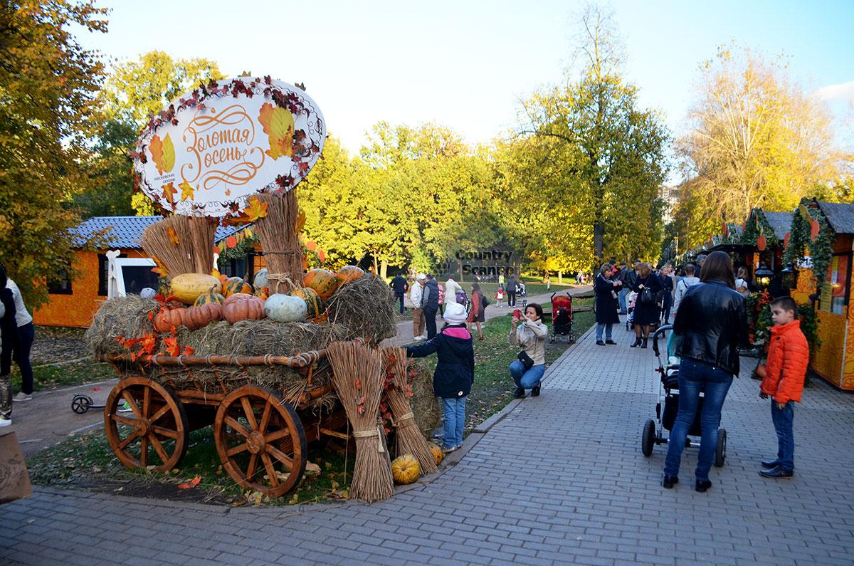 Осенняя ярмарка в Воронцовском парке