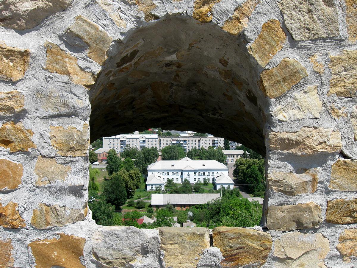 Вид на город из бастиона Дорошенко