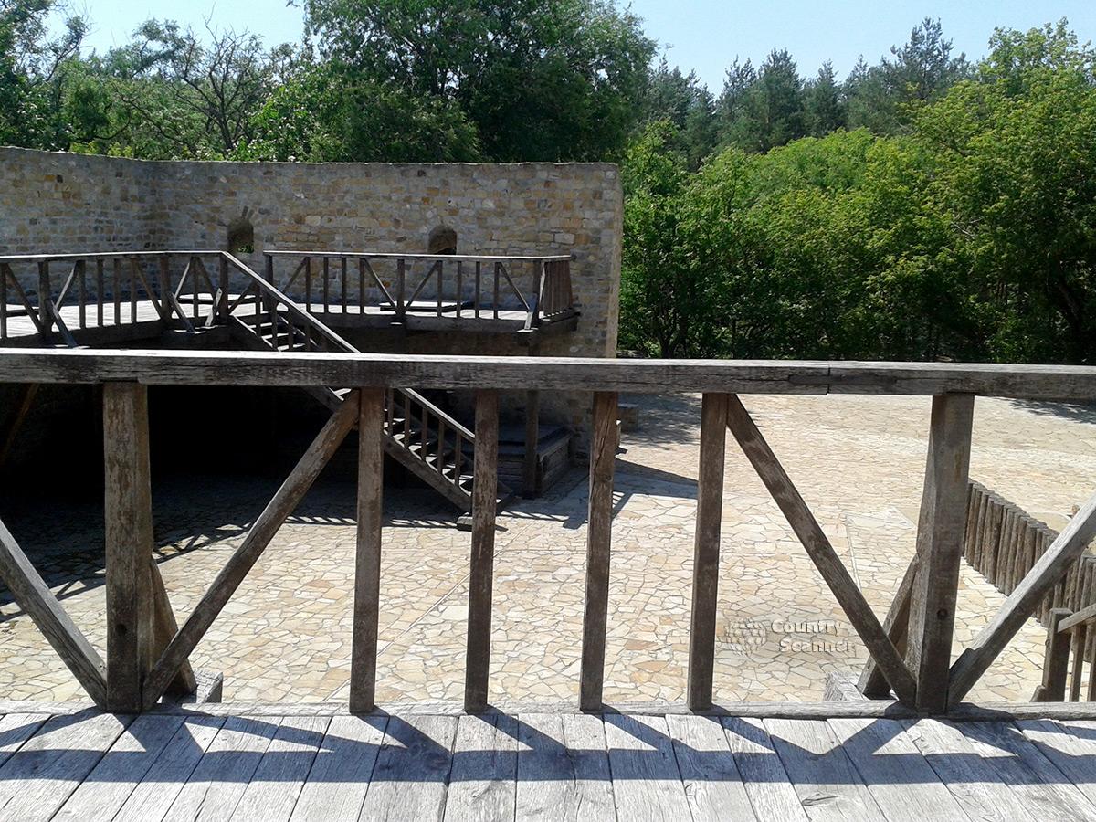Бастион Дорошенко на Замковой горе