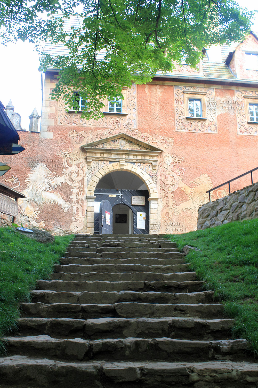 Вход в верхний замок Гродно