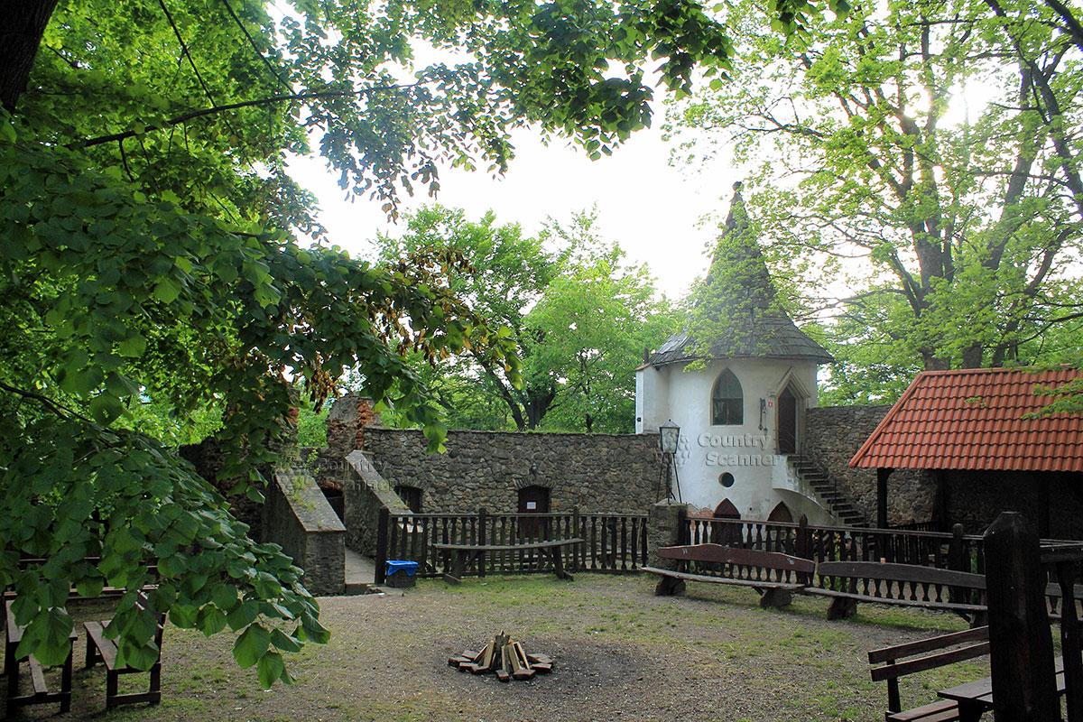 Внутренний двор замка Гродно