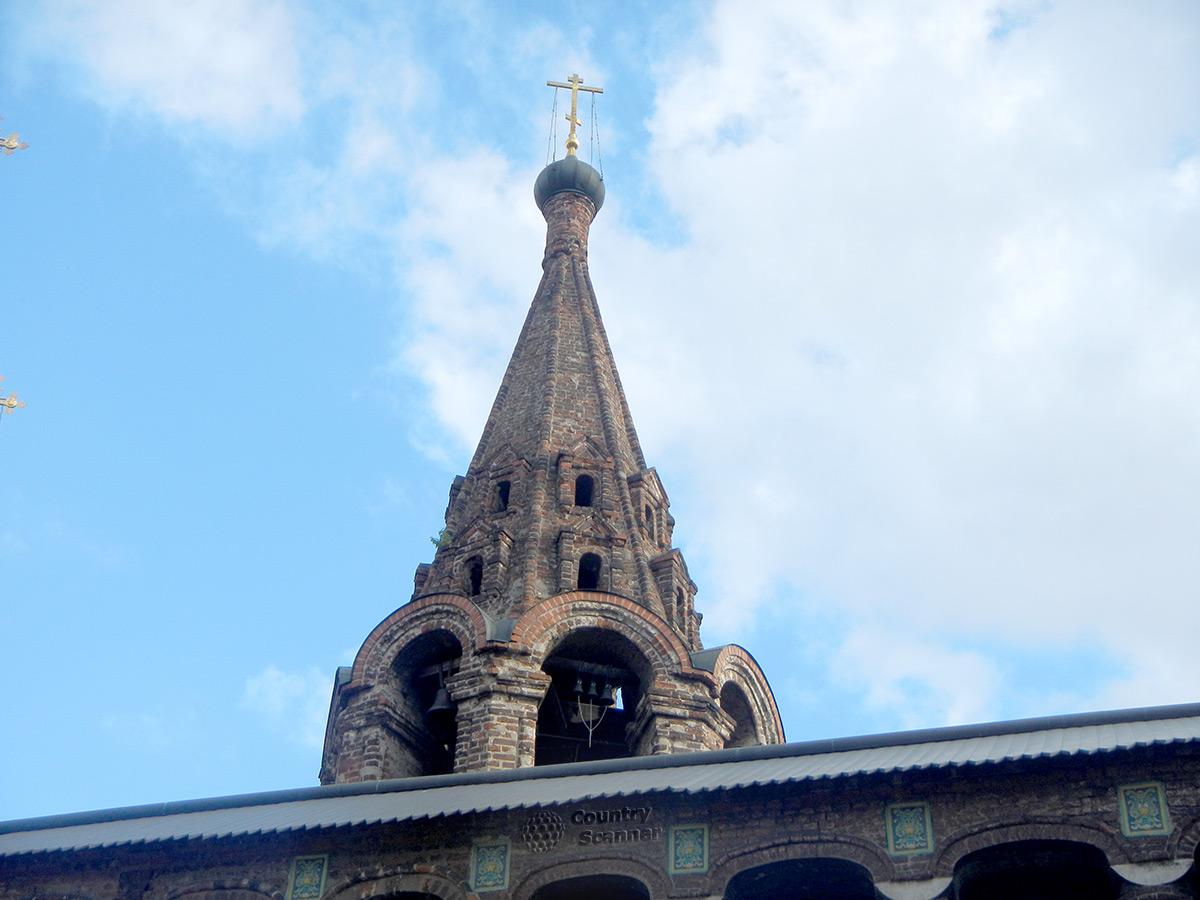Крутицкое подворье. Колокольня Успенского собора.