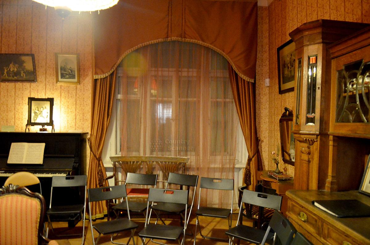 Музей Булгакова – общий вид гостиной.