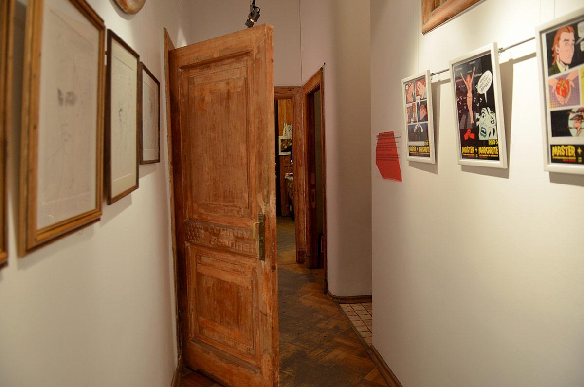 Коридор коммунальной квартиры в музее Булгакова.