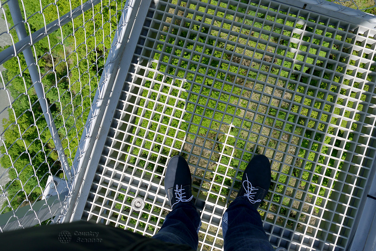 """Скайбридж в Скайпарке. """"Бездна"""" под ногами."""