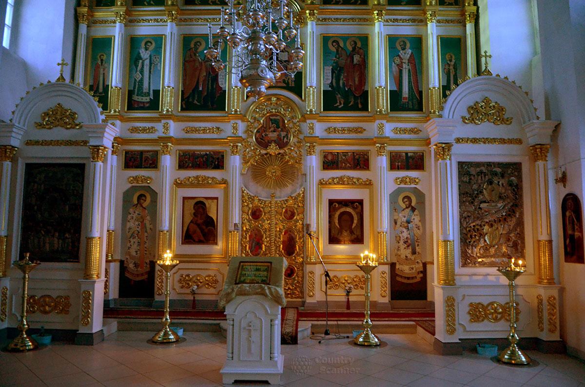 Картинка алтаря в церкви