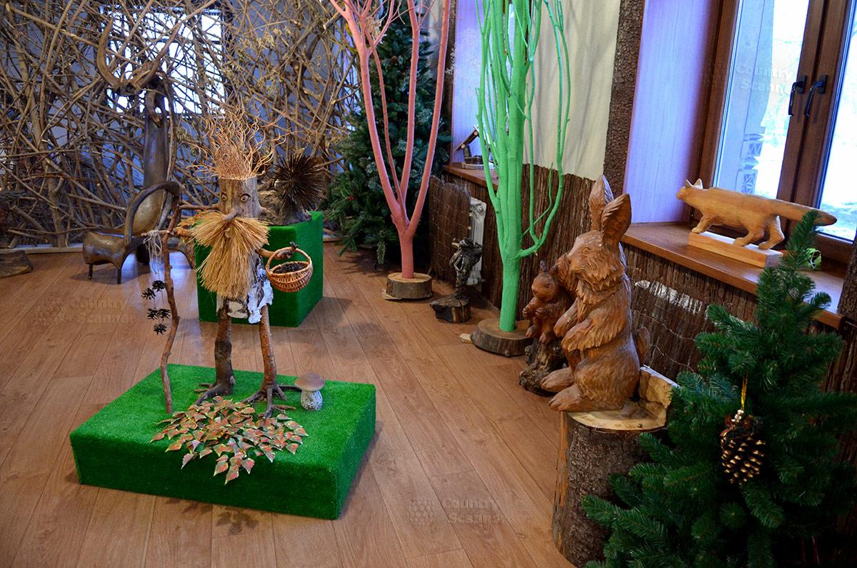 Музей Лес-Чудодей. Старичок-лесовичок и храбрый заяц.