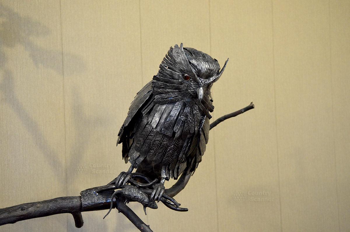 Музей Лес-Чудодей. Ночной охотник из металла.
