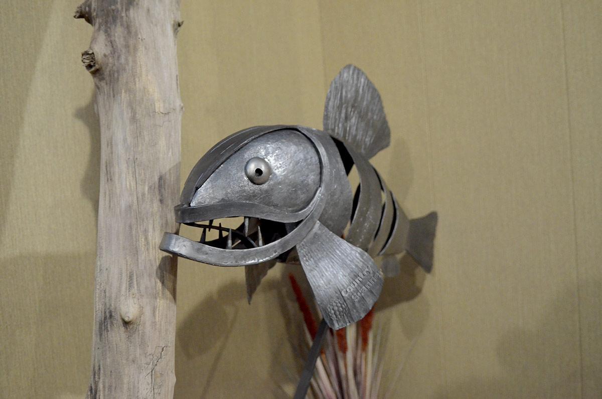 Музей Лес-Чудодей. Рыба.
