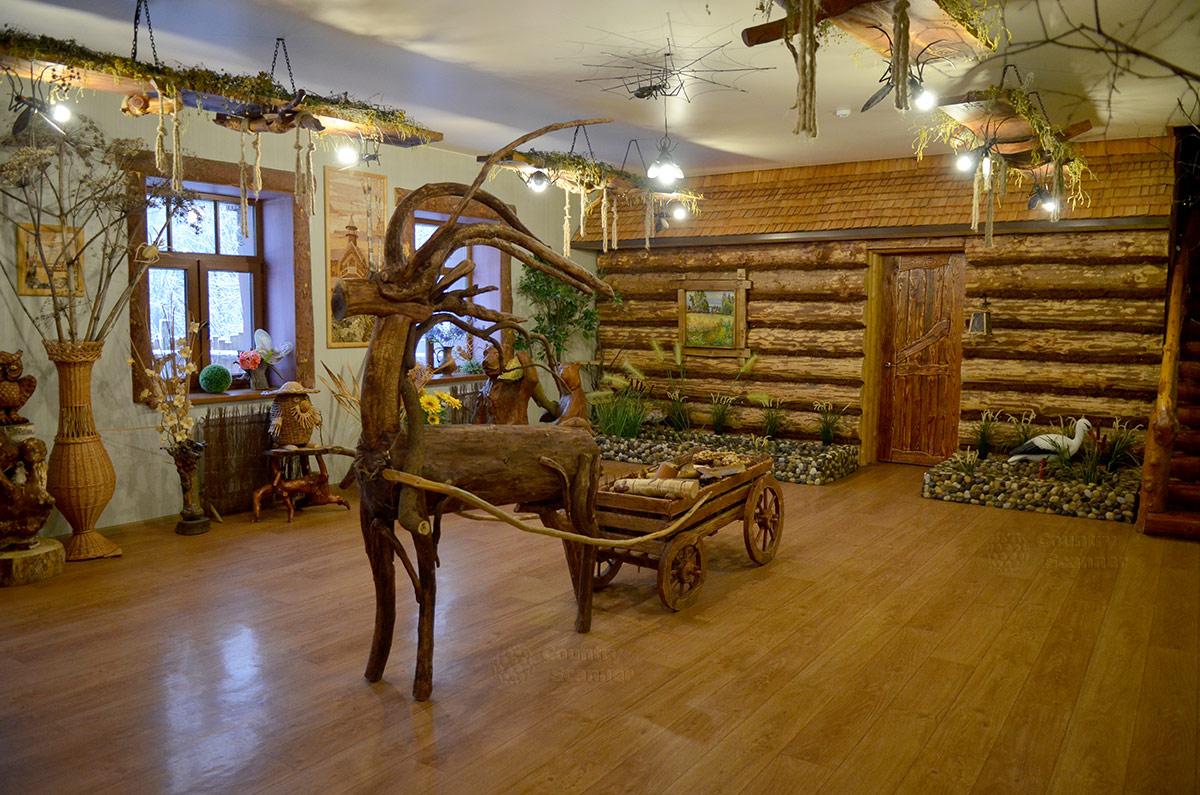 Музей Лес-Чудодей. Чудо-олень.