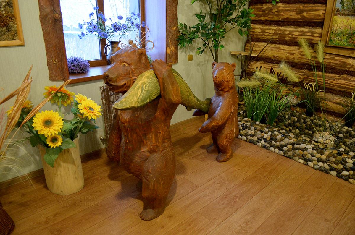 Музей Лес-Чудодей. Медведь-рыболов.