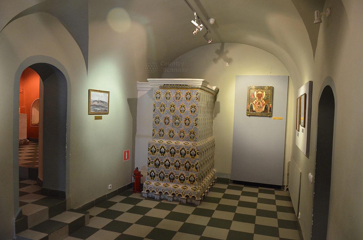 Один из залов Царских палат Ипатьевского монастыря.