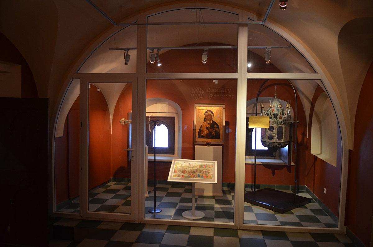 Ипатьевский монастырь. Подлинные предметы, находившиеся с посланниками Земского собора.