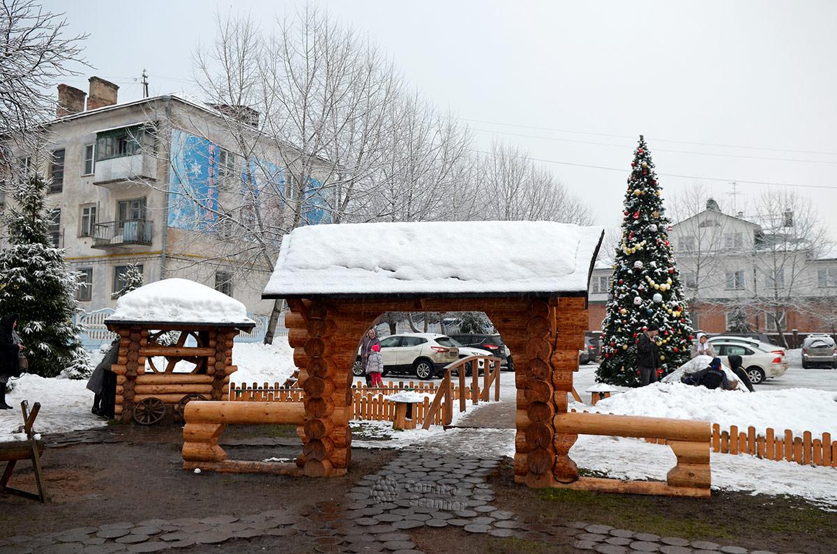 Тематическим комплекс - Терем Снегурочки.