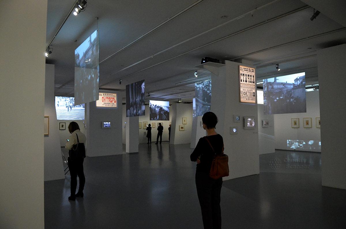Видеоработы в мультимедийном Арт Музее
