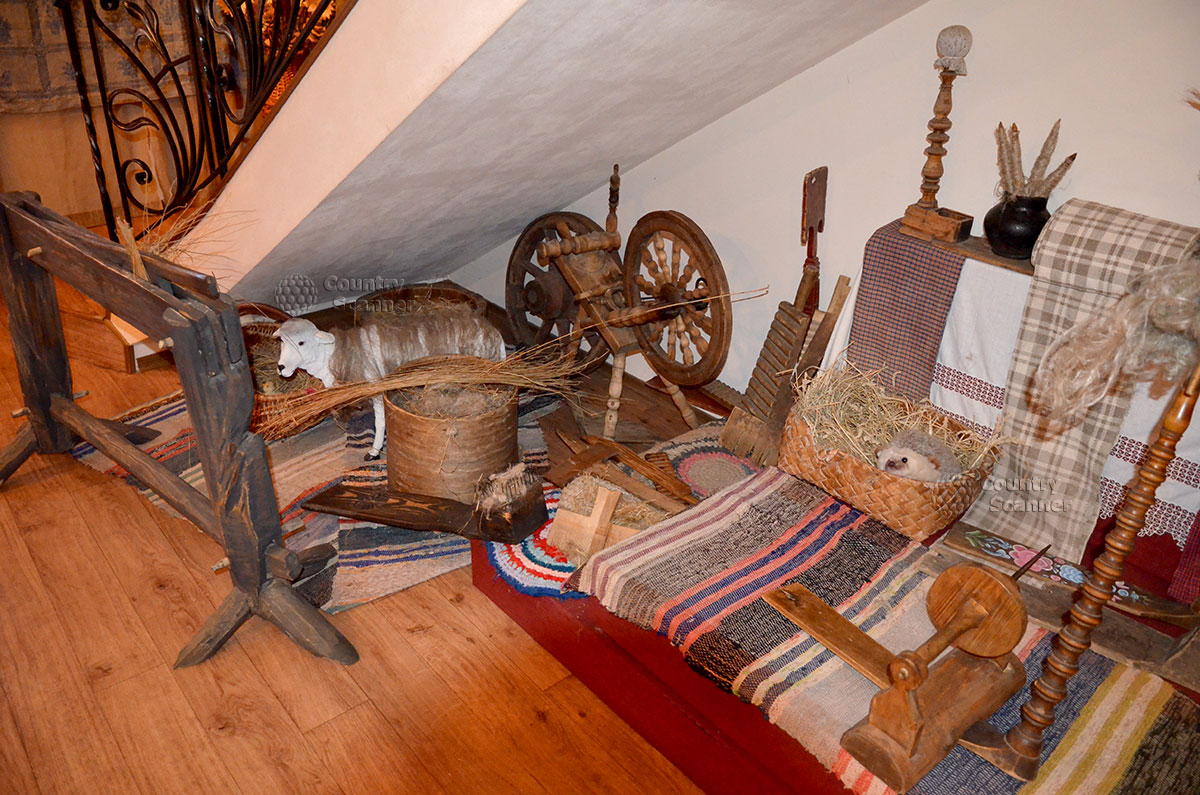 Музея льна и бересты. Немного о технологии создания старинных предметов.