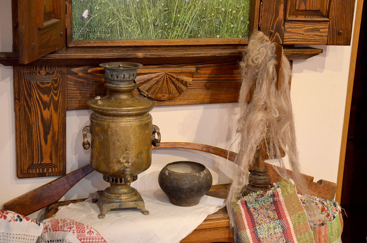 Музей льна и бересты. Старорусский быт.