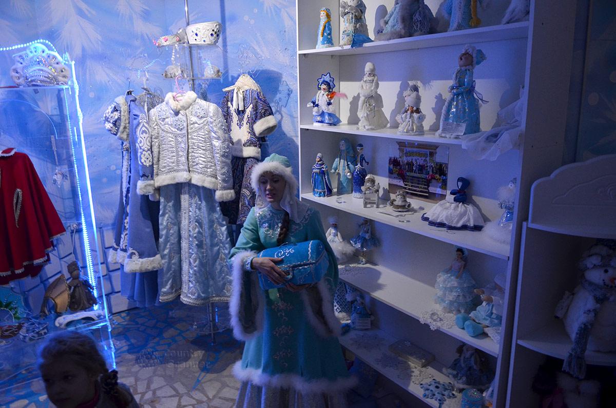 Резиденция Снегурочки. Снежная волшебница делится своими секретами.