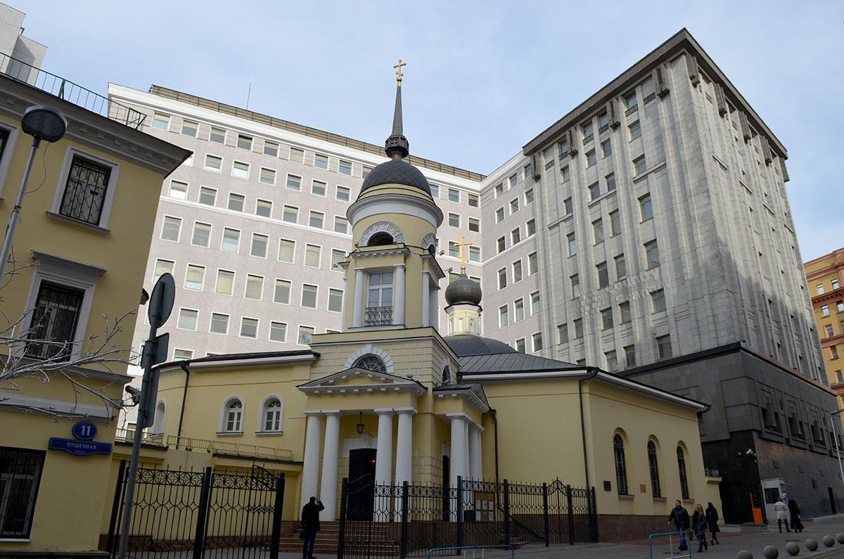церковь Софии у Пушечного двора