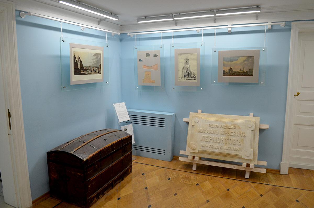 Прихожая купеческого особняка, где проживал в юности один из величайших русских поэтов, а теперь находится мемориальный музей Лермонтова.