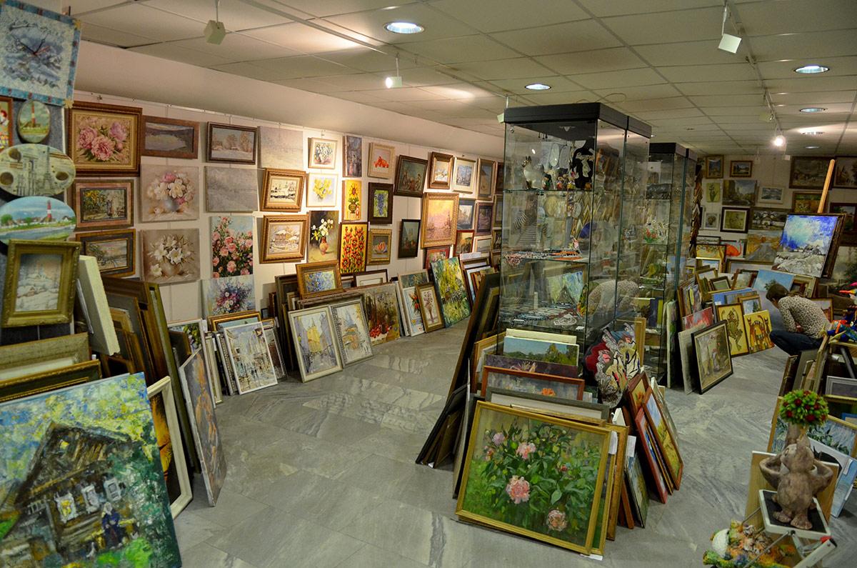 Галерея Нагорная. Выставка и продажа картин.