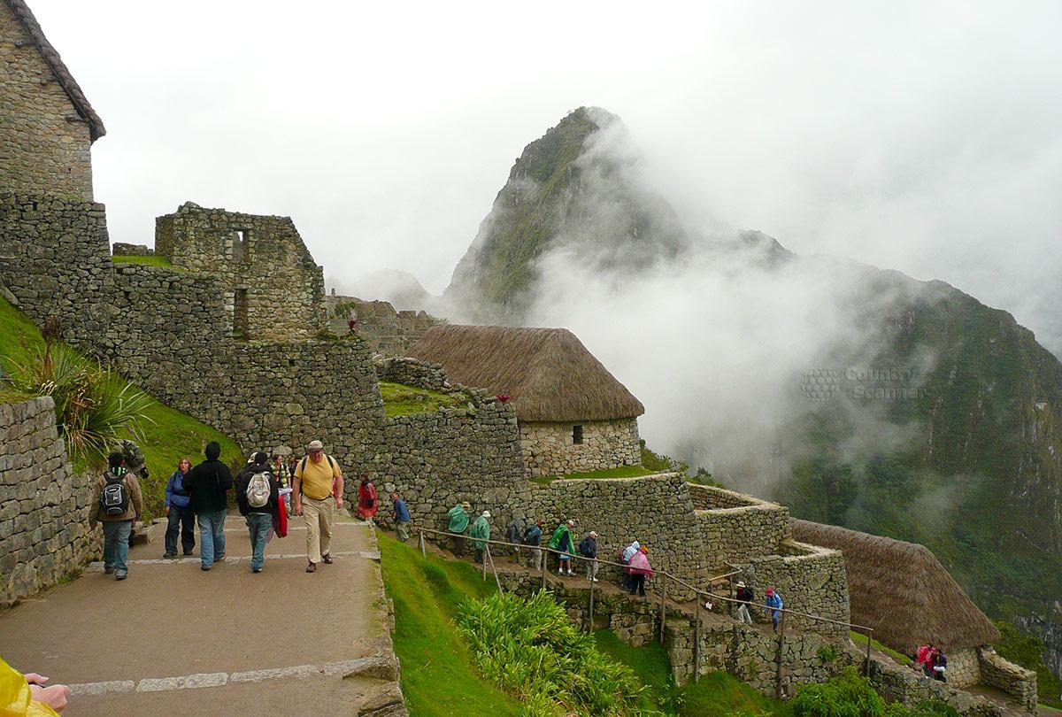 Мачу-Пикчу. Ступенчатые стены.