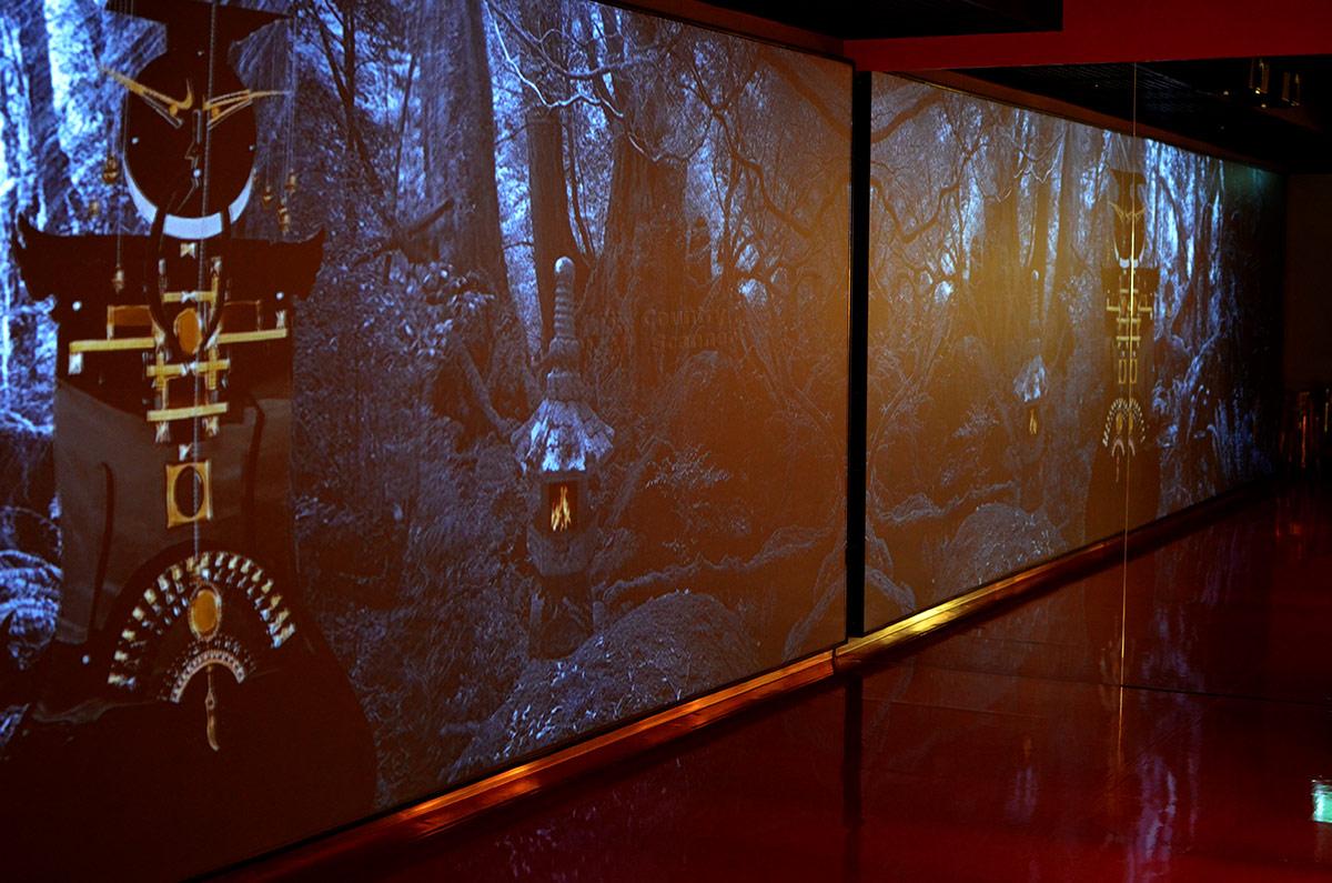 Дворец императора Поднебесной в музее Зверева