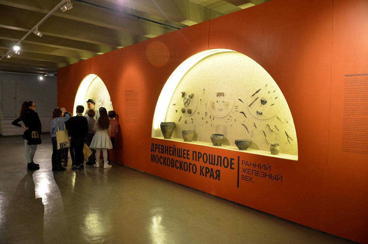 Экспозиция периода железного века в музее Москвы демонстрирует значительное разнообразие и усложнение найденных изделий и орудий.