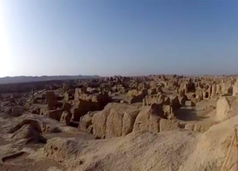 Новость 31-03-2017 Развалины древнего города возрастом 1500 лет обнаружили в Китае