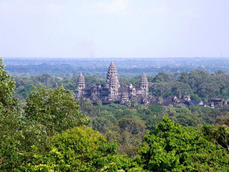 Ангкор-Ват. Вид на храм