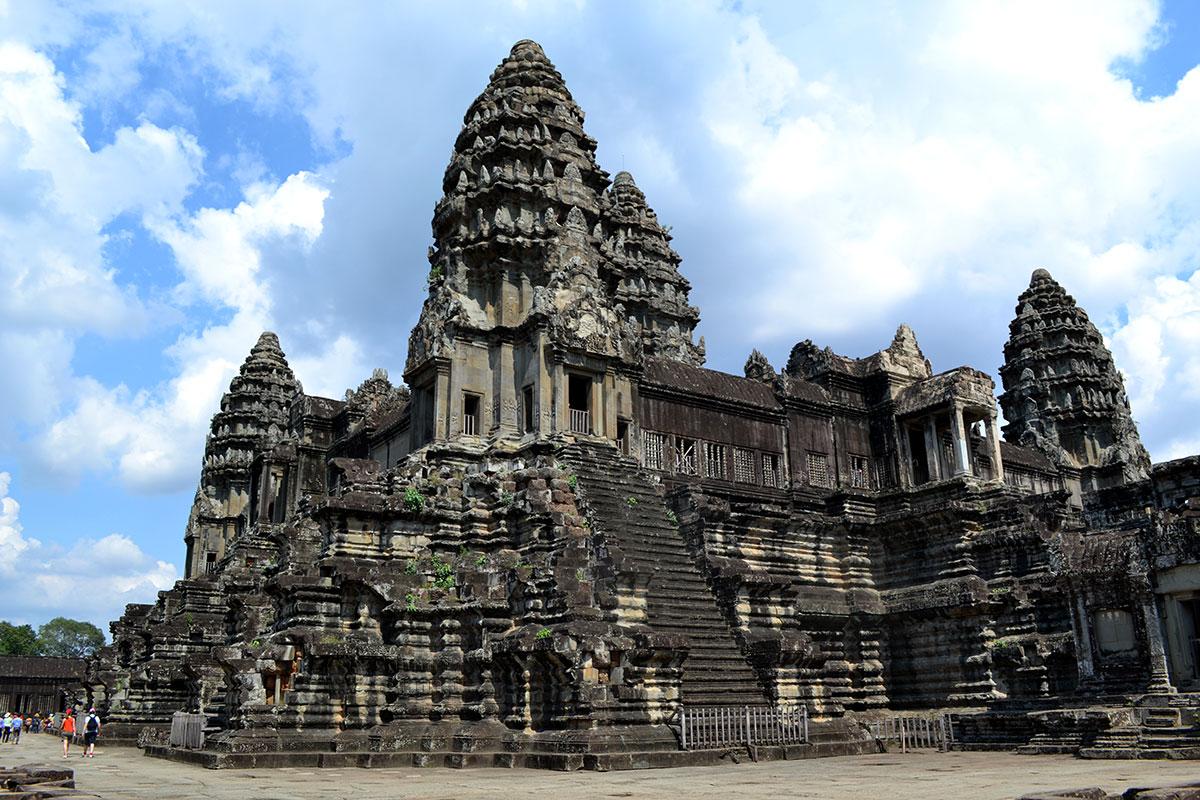 Ангкор-Ват - место погребения царя