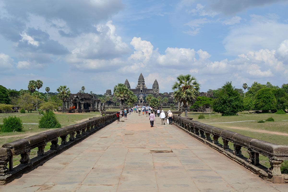 Архитектура Ангкор-Ват