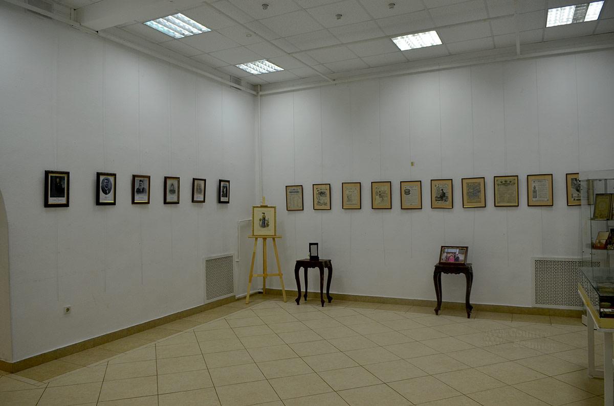 Галерея Варшавская. Один из выставочных залов.