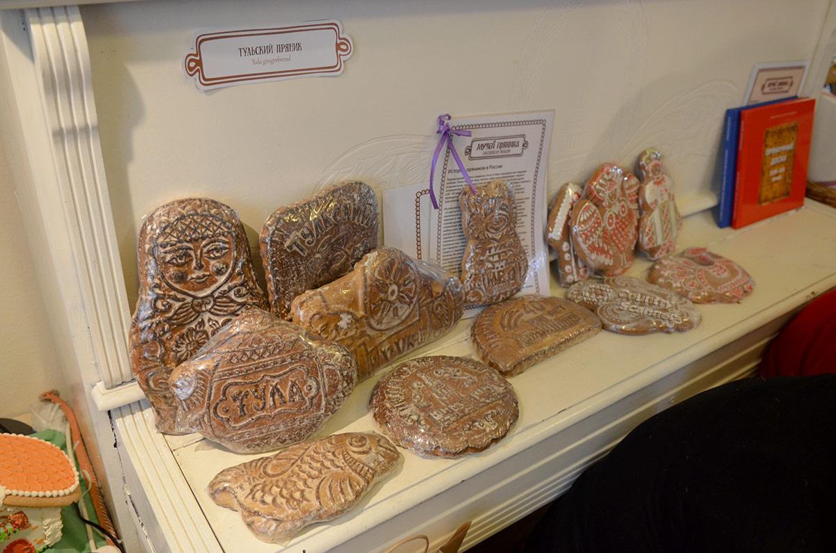 Музей пряника. Шедевры, созданные тульскими мастерами.