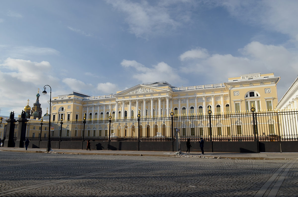 Фото михайловского дворца