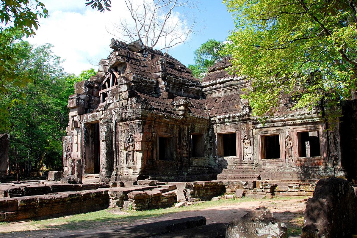 Бантей Кдей – один из немногих храмов Ангкора
