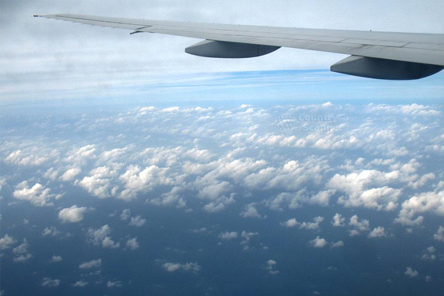 Самолет Аэрофлота попал в зону турбулентности