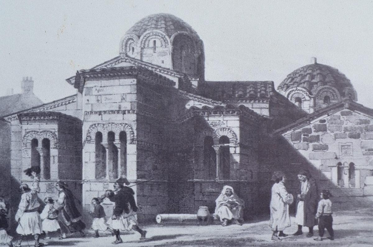 Панагия Капникарея - образец византийской храмовой архитектуры XI ст.