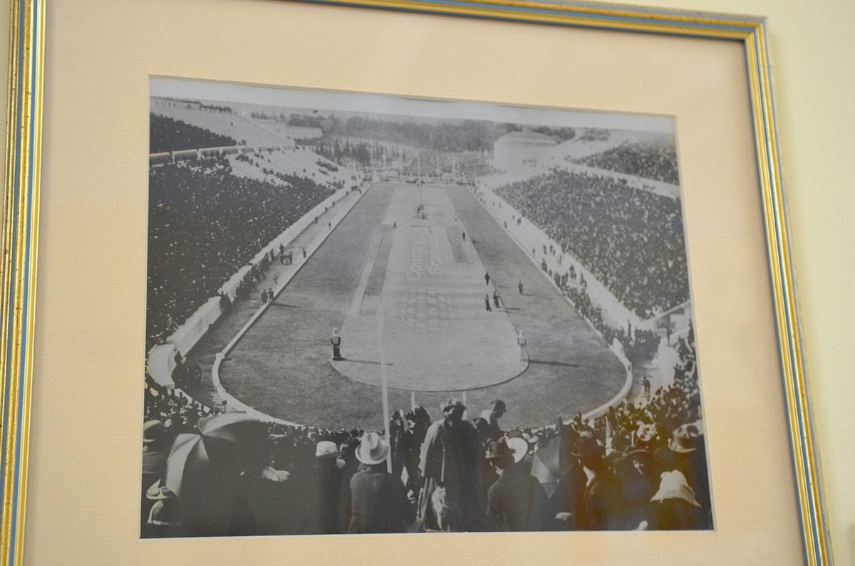 Один из ценнейших экспонатов музея стадиона Панатинаикос – фотография в первых Олимпийских игр современности, проводимых на этом спортивном сооружении.