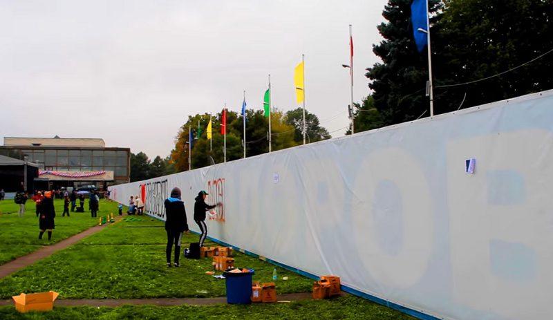 фестиваль Разноцветная Москва. Граффити-работы